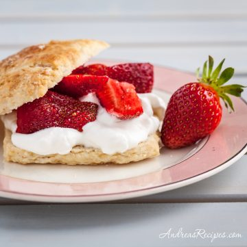 Brown Sugar Strawberry Shortcakes - Andrea Meyers
