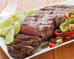 Beef Fajitas with Lime Beer Marinade
