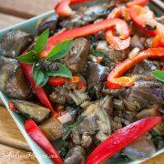 Spicy Thai-Style Eggplant - Andrea Meyers