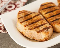 Grilled Pork Chops with Tandoori Spice Rub