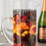 Fruity Sparkling Summer Sangria - Andrea Meyers