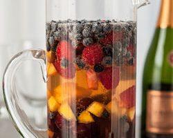 Fruity Sparkling Summer Sangria