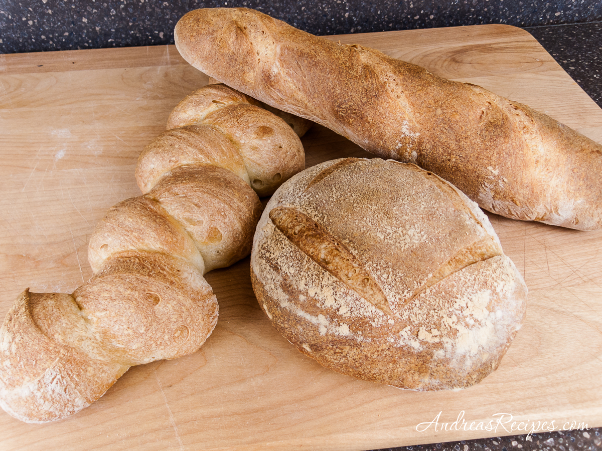Julia Child's French Bread - Andrea Meyers
