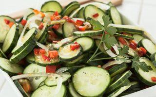 Lemon Cucumber Salad