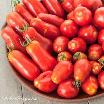 Paste Tomatoes: San Marzano, Roma, and Amish Paste - Andrea Meyers