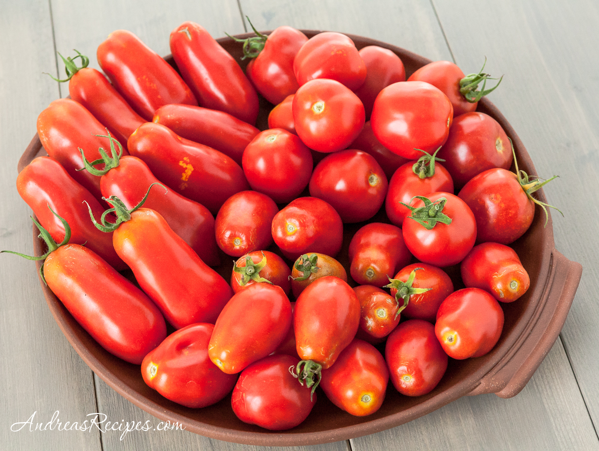 Paste Tomatoes: San Marzano, Roma, and Amish Paste - Andrea Meyers