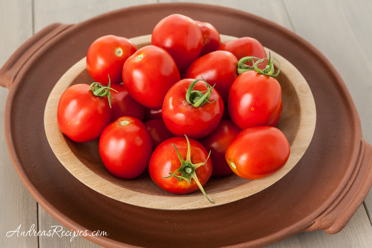 Amish Paste Tomatoes - Andrea Meyers