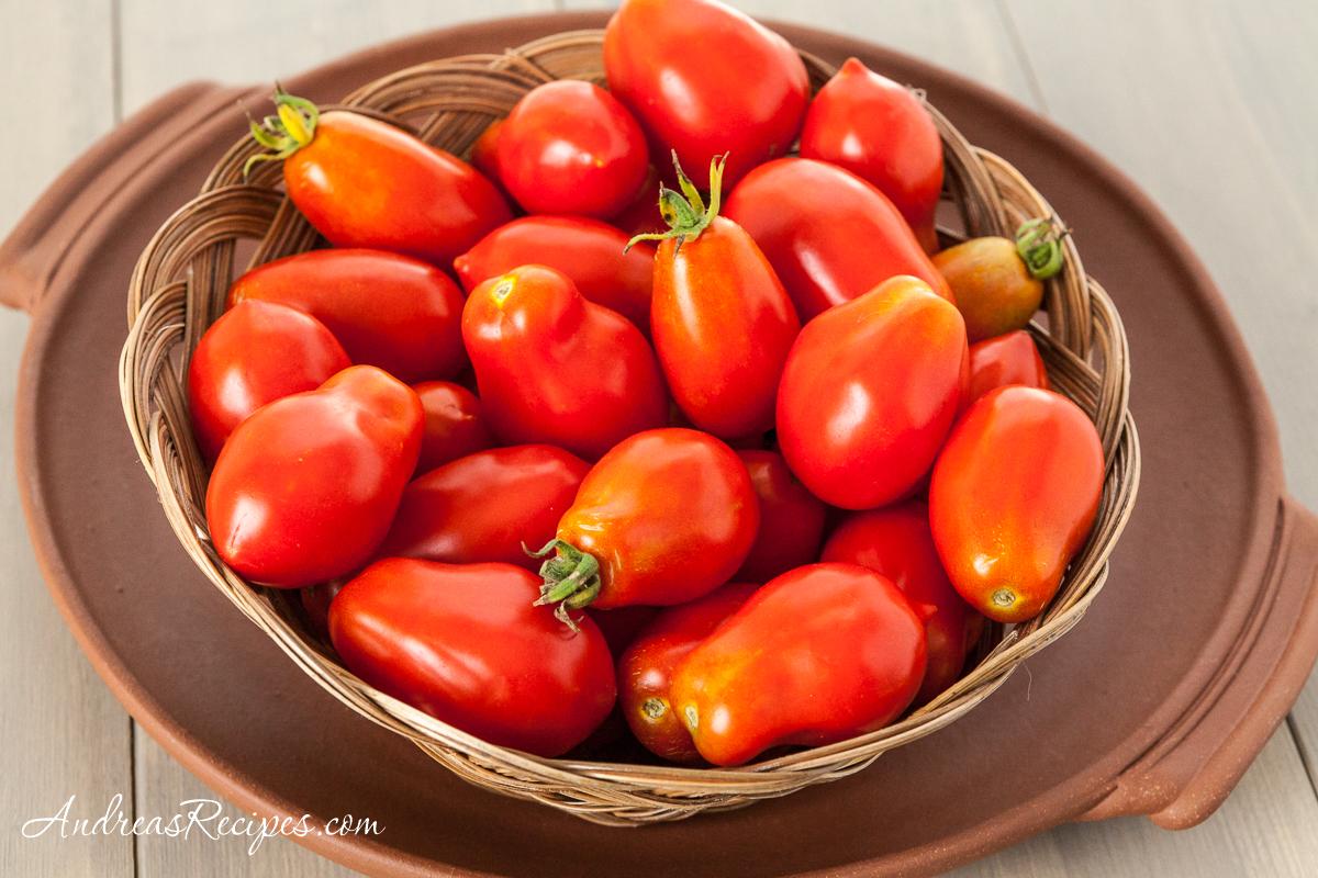 Roma VF Tomatoes - Andrea Meyers