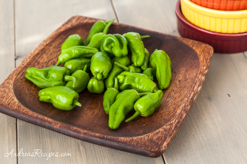 Padron Peppers - Andrea Meyers