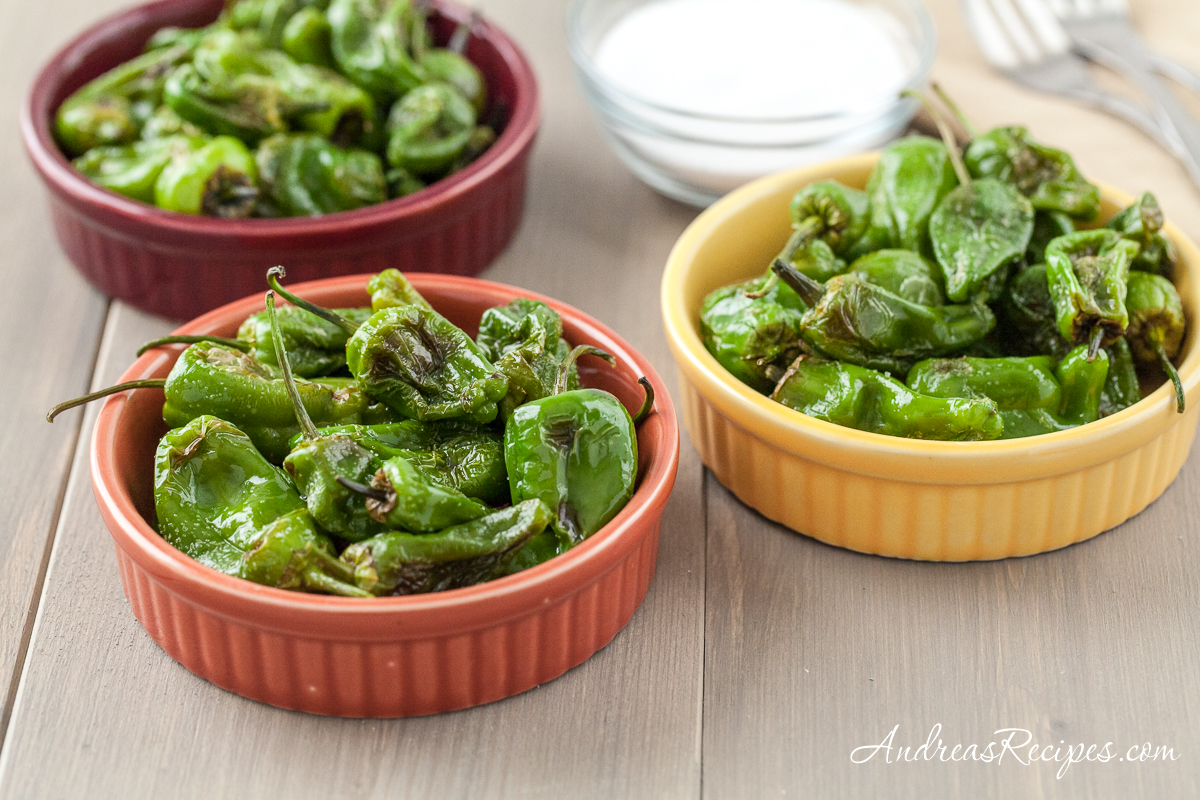 Padron Pepper Tapa - Andrea Meyers