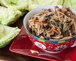 Mu Shu Pork Lettuce Wraps