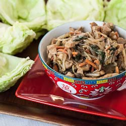 Andrea Meyers - Mu Shu Pork Lettuce Wraps