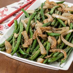 Andrea Meyers - Sesame Green Beans