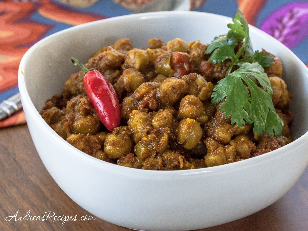 Chana Masala - Andrea Meyers