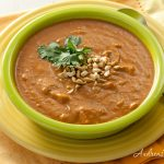 Curried Peanut, Sweet Potato, and Tomato Soup - Andrea Meyers