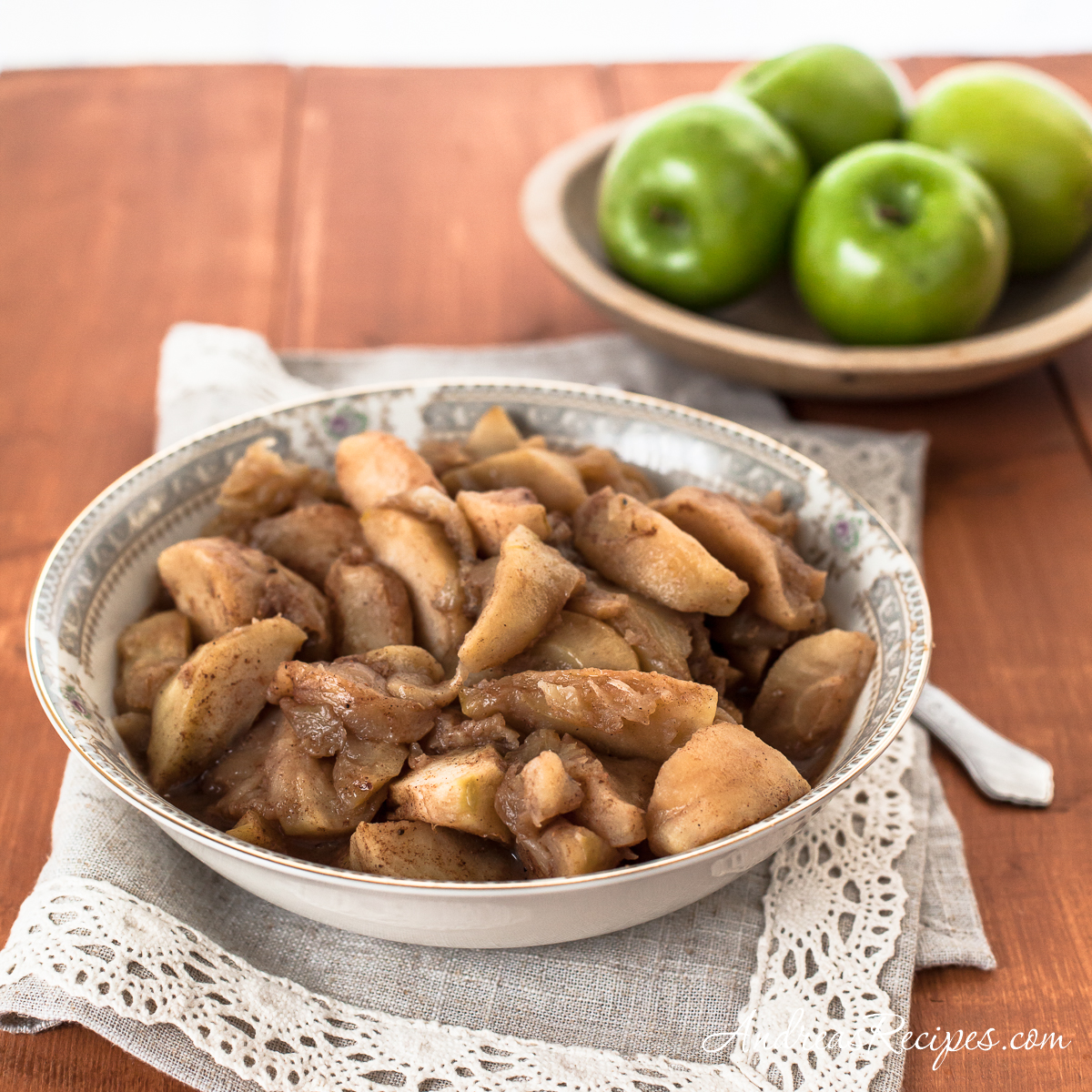 My Family's Fried Apples - Andrea Meyers