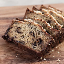 Andrea Meyers - Banana Bread with Nutella and Hazelnuts