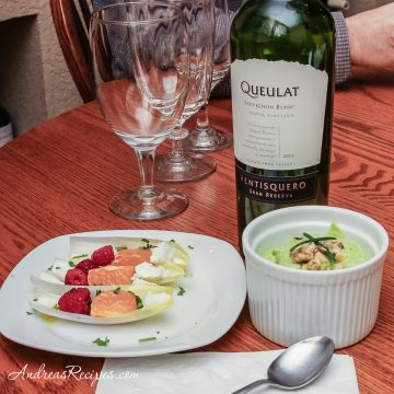 Chilled Avocado Soup - Andrea Meyers
