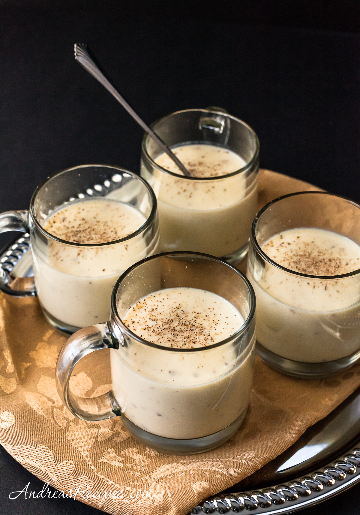 Eggnog, Light and Easy - Andrea Meyers