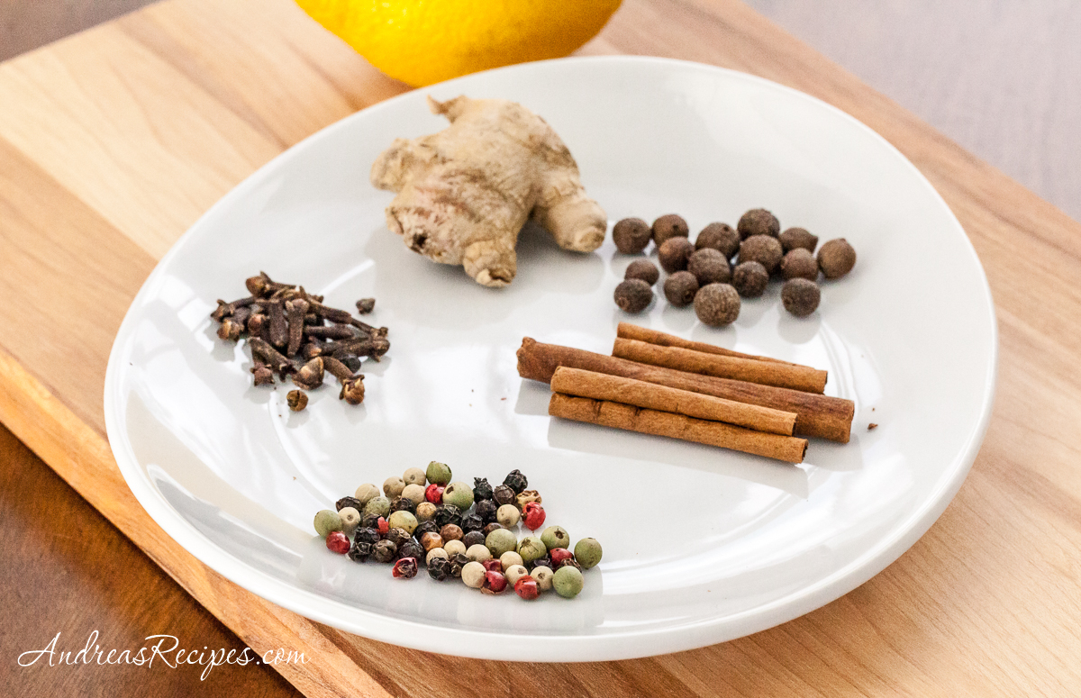 Spices for Polish Krupnik - Andrea Meyers