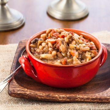 Slow Cooker Brunswick Stew - Andrea Meyers