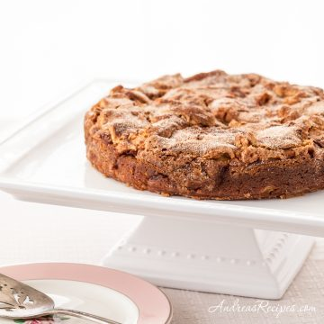 Cinnamon Apple Cake - Andrea Meyers