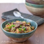 Slow-Cooker Chicken and Andouille Jambalaya - Andrea Meyers