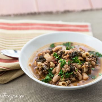 Italian Sausage, Kale, and Cannellini Bean Soup - Andrea Meyers