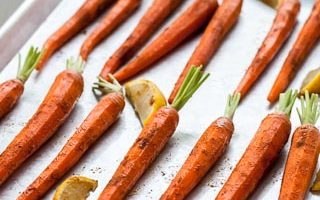 Roasted Carrots with Moroccan Spices