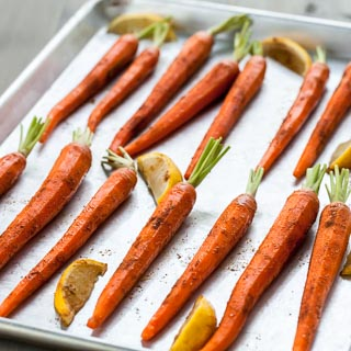 Roasted Carrots Recipe with Moroccan Spices - Andrea Meyers