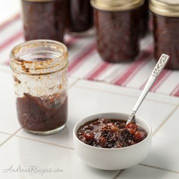 Tomato and Raisin Chutney - Andrea Meyers