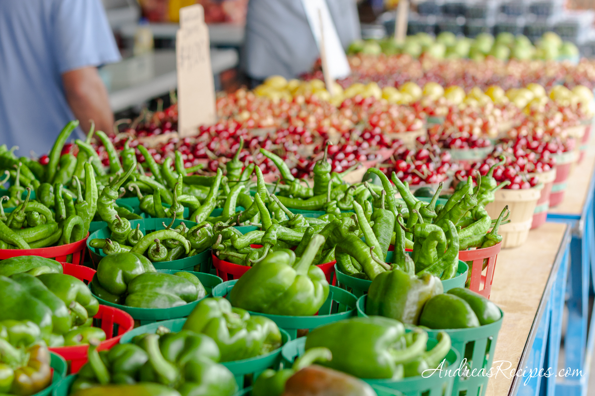 Peppers at the Central New York Regional Market - Andrea Meyers