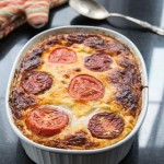 Egg and Cheese Casserole Recipe with Feta, Spinach, Mushrooms, Peppers, and Tomatoes (The Kids Cook Monday) - Andrea Meyers
