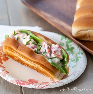 Maine Lobster Rolls - Andrea Meyers