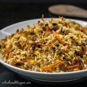 Persian Jeweled Rice, aka Wedding Rice - Andrea Meyers
