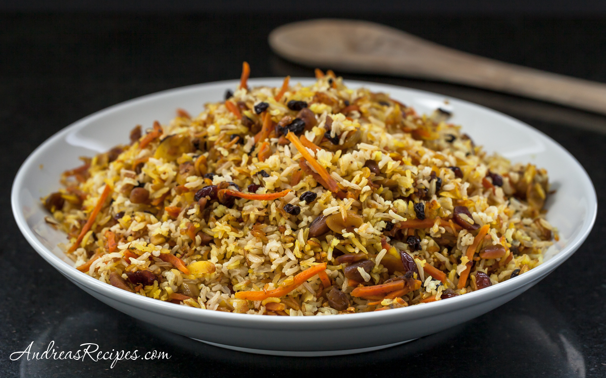 Persian Jeweled Rice, aka Wedding Rice - Andrea Meyers