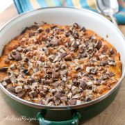 Butternut Squash Au Gratin with Mushrooms and Bacon - Andrea Meyers