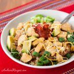 Chicken Burrito Rice Bowls - Andrea Meyers