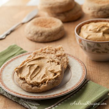 Pumpkin Cream Cheese Spread - Andrea Meyers