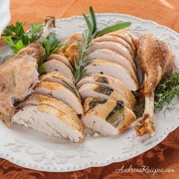 Roast Turkey in a Roaster Oven - Andrea Meyers