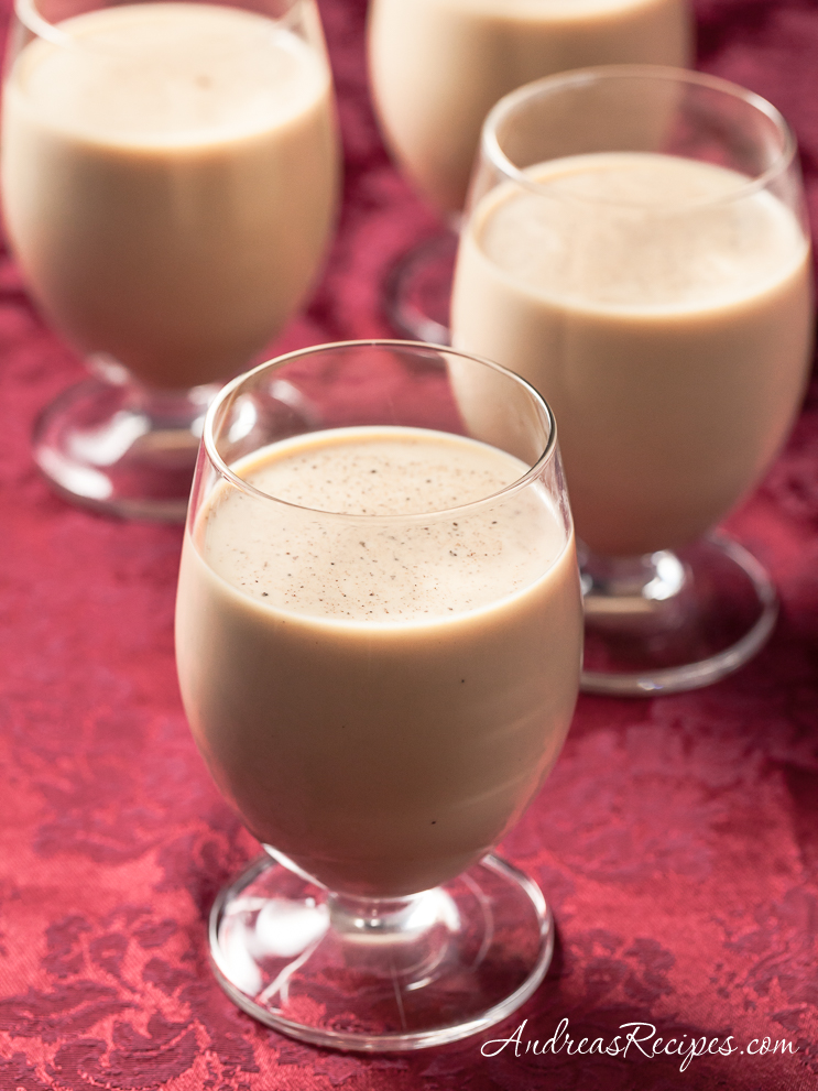 Eggnog Irish Coffee - Andrea Meyers