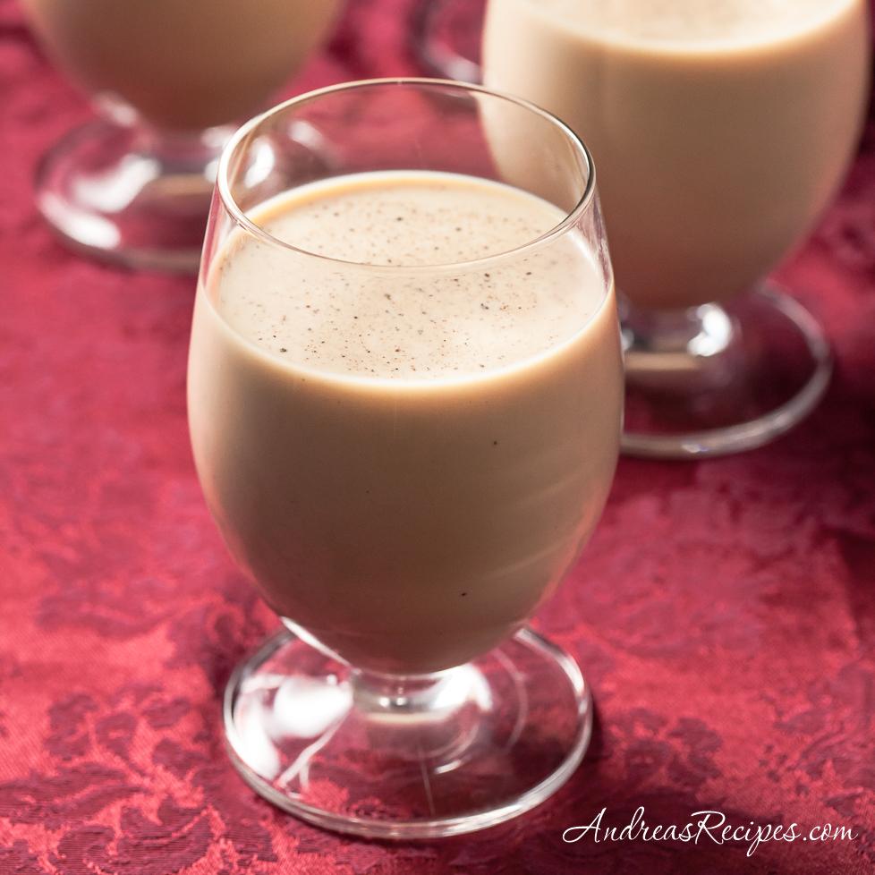 Eggnog Irish Coffee - Andrea Meyers