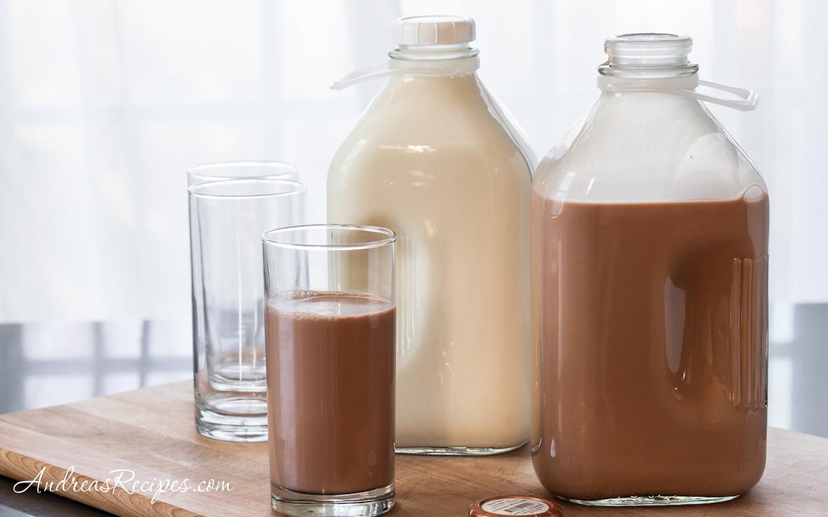 Moo Thru milk in jars - Andrea Meyers
