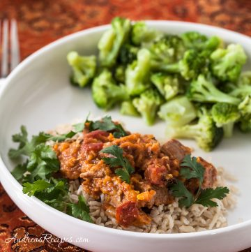 Slow-Cooker Chicken Korma - Andrea Meyers