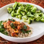 Slow-Cooker Chicken Korma - Andrea Meyers