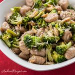 Browned Butter Gnocchi with Broccoli and Almonds - Andrea Meyers