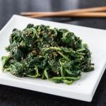 Weekend Gardening: Dandelions (Japanese Sesame Spinach Salad with Dandelion Greens, Goma-ae)