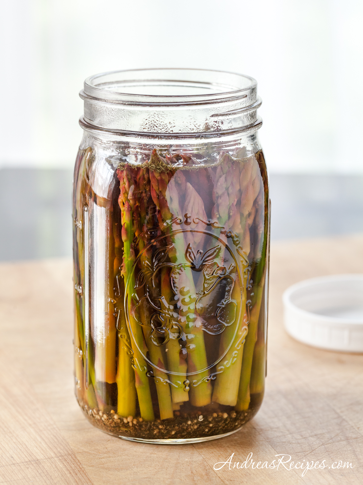 Refrigerator Asparagus Pickles - Andrea Meyers