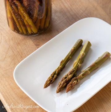 Refrigerator Asparagus Pickles - Andrea Meyers