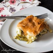Asparagus and Leek Pie - Andrea Meyers
